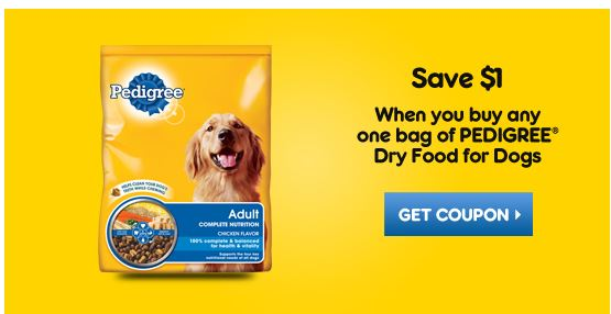 Printable Pedigree Dog Food Coupons Canada