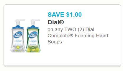photograph about Dial Printable Coupon referred to as Treatment hand cleaning soap printable coupon : Twoleavesandabud coupon