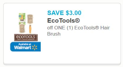 photograph relating to Ecotools Printable Coupon referred to as EcoTools Hair Brush Printable Coupon - Printable Discount coupons and