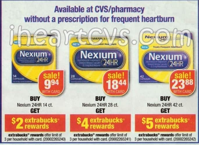 Nexium Coupons 2015