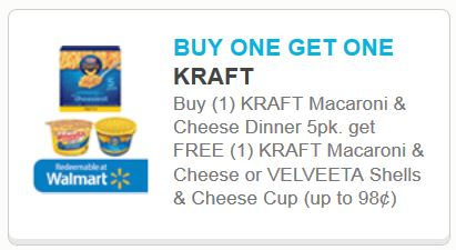 Kraft mac and cheese
