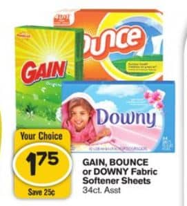 downy and gain