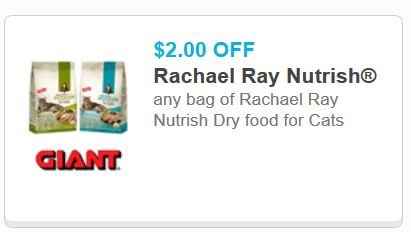 rachel ray nutirsh dry food for cats