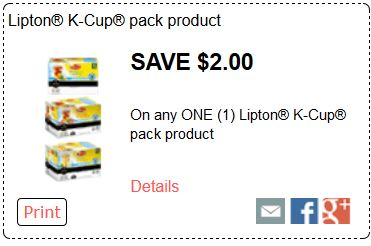 Lipon k cup pack