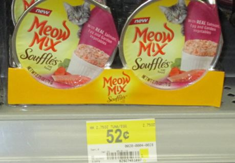 Meow mix cups