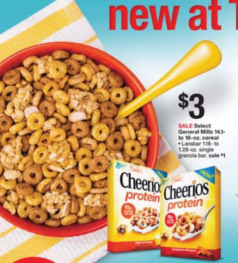 cheerios high protein cereal