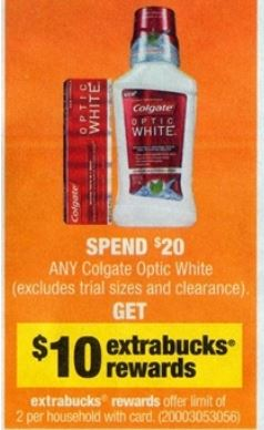 colgate optic white cvs 07-20