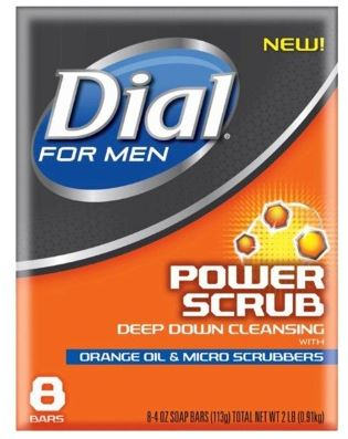 dial for men power scrub