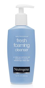 neutrogena fresh foam cleasnser