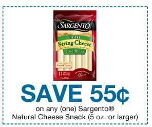 sargento natural cheese snack