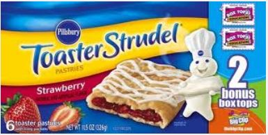 toaster strudel new