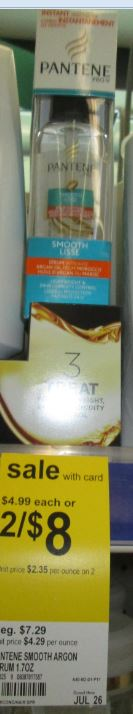 wags july pantene serum