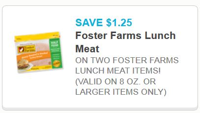 Foster farms luch meant