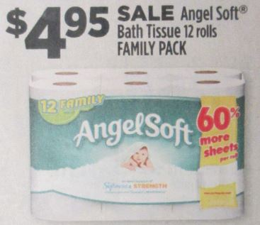 angel soft 12 rolls