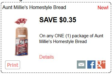 aunt millies bread