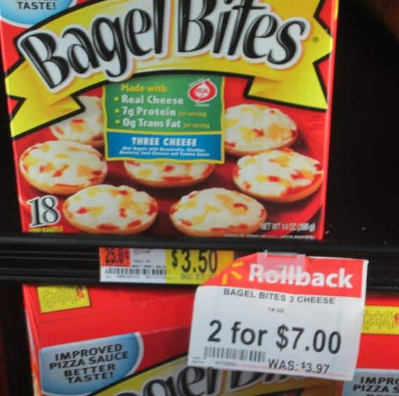 bagel bites new walmart