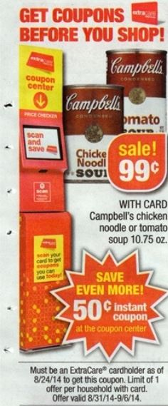 campbell's soup cvs