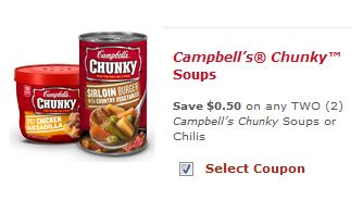 campbell's soup or chili