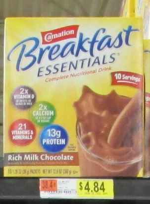 carnation breakfast essentials walmart