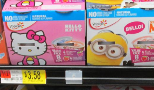 hello kitty yogurt walmart
