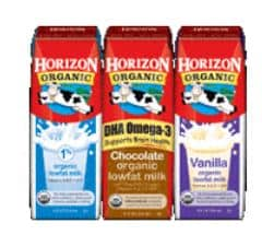 horizon milk boxes new