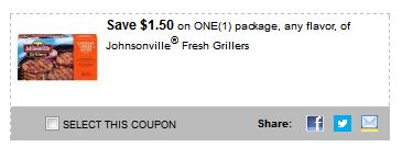 johnsonville fresh grillers