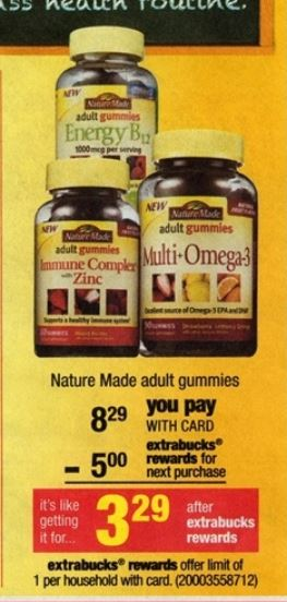 nature made adult gummies cvs 08-24