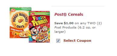 post cereals new