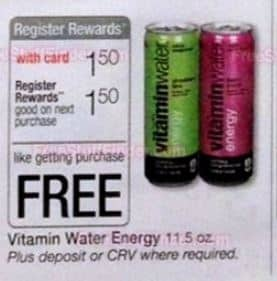 vitamin water freebie