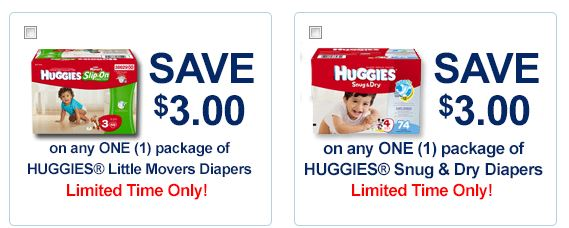 Huggies limited time only