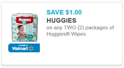 Huggies wipes new