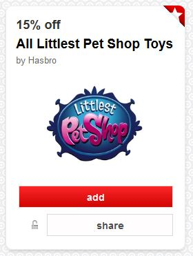 Littlest pet shop cart