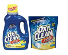 Oxi clean new laundry