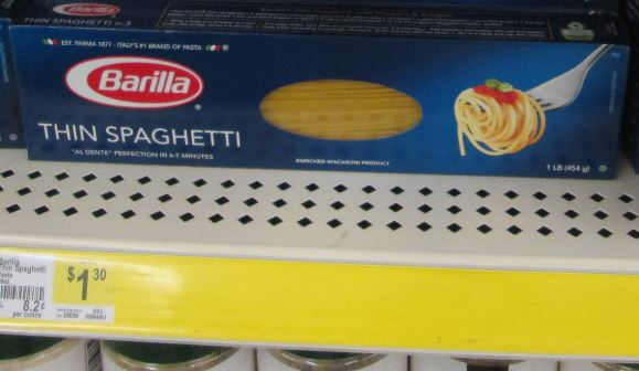 barilla dollar general