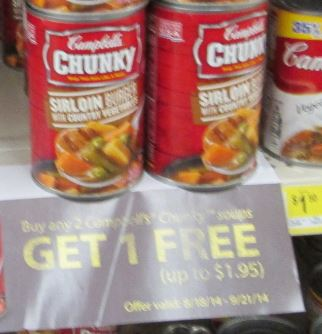 chunky dollar general