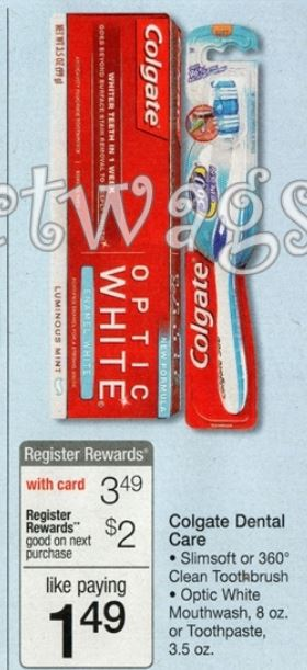 colgate wags