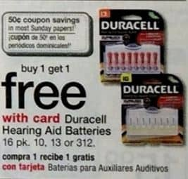 picture regarding Duracell Hearing Aid Batteries 312 Coupons Printable known as Walgreens: Colgate 4-6 oz Toothpaste for $.25 and Get Just one