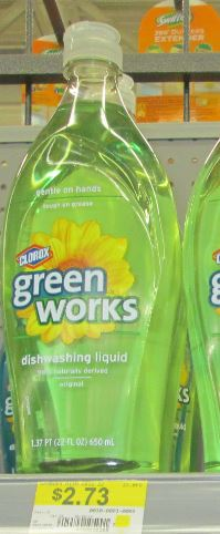 green works dish wash walmart