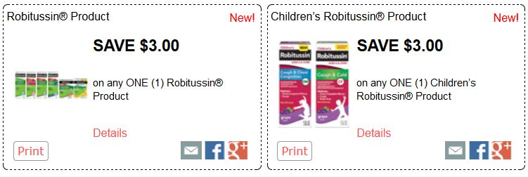 robitussin coupon 3