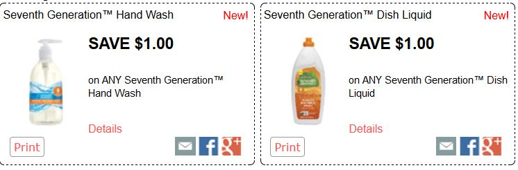 seventh generation new coupons