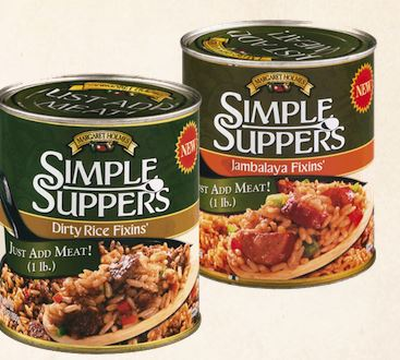simple suppers new