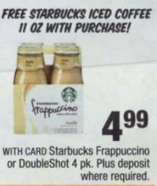 starbucks frapp cvs 09-21