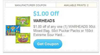 Hard candy coupons