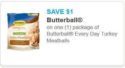 Butterball everyday Turkey meatballs