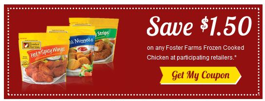 Foster farms frozen cooked