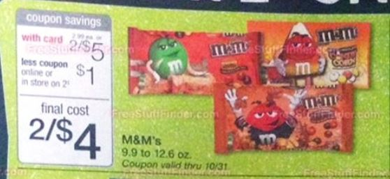 M&M's wags 10-26