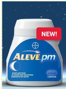 aleve pm new