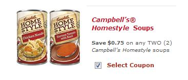 campbell's homestyle