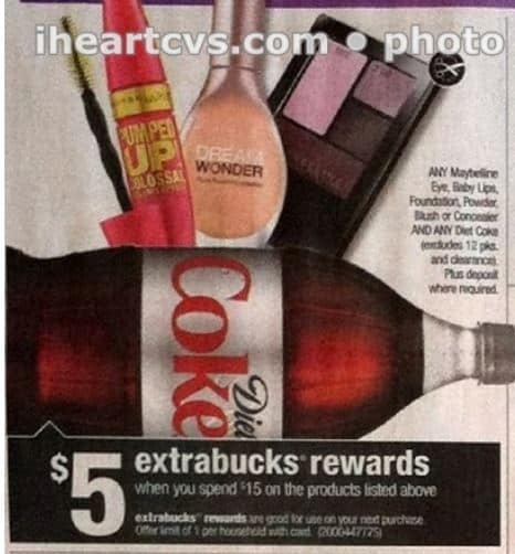 maybelline and diet coke cvs 10-26