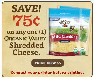 organic valley cheese